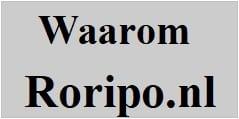 waarom Roripo